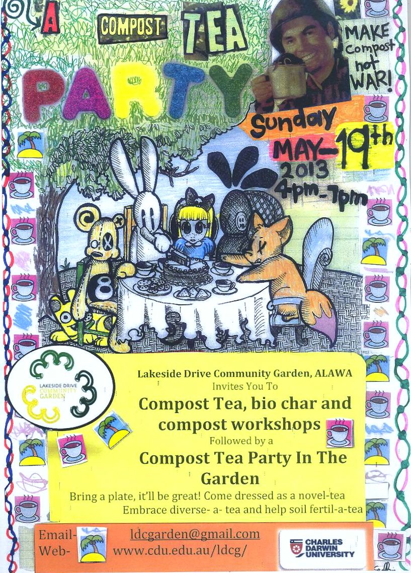 Compost Tea Party!