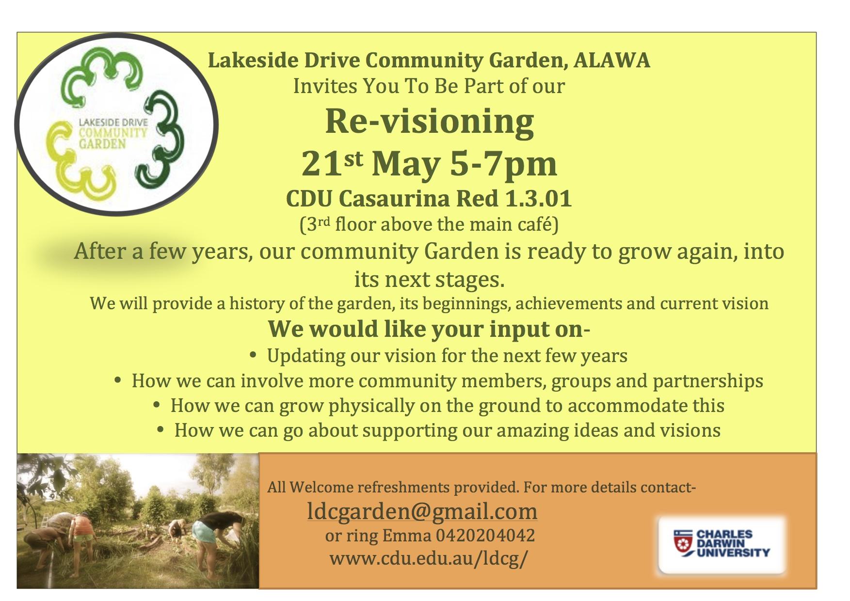 Re-visioning- get involved 21 May